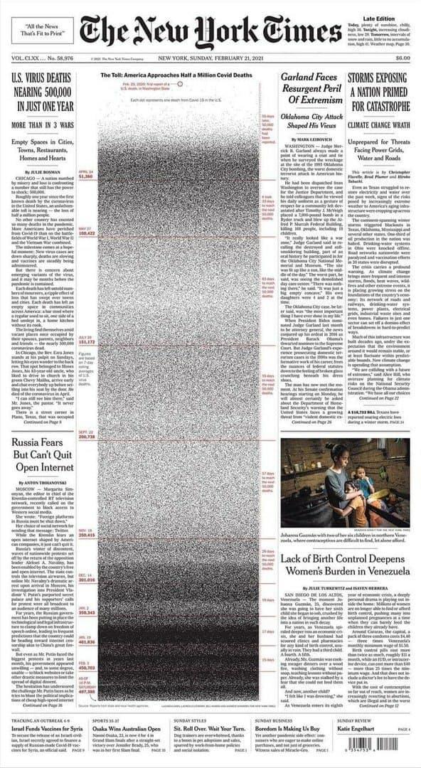 روزنامه نیویورک تایمز