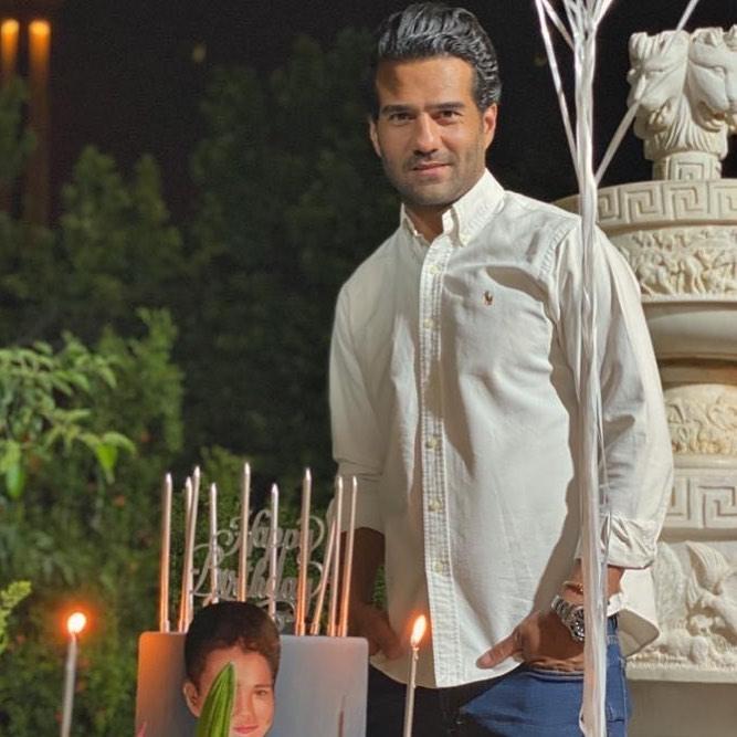 جشن تولد سوت و کور مسعود شجاعی