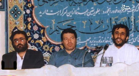 احمدی نژاد و تاج زاده