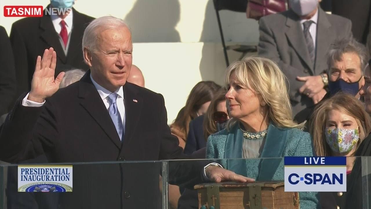 جو بایدن سوگند یاد کرد