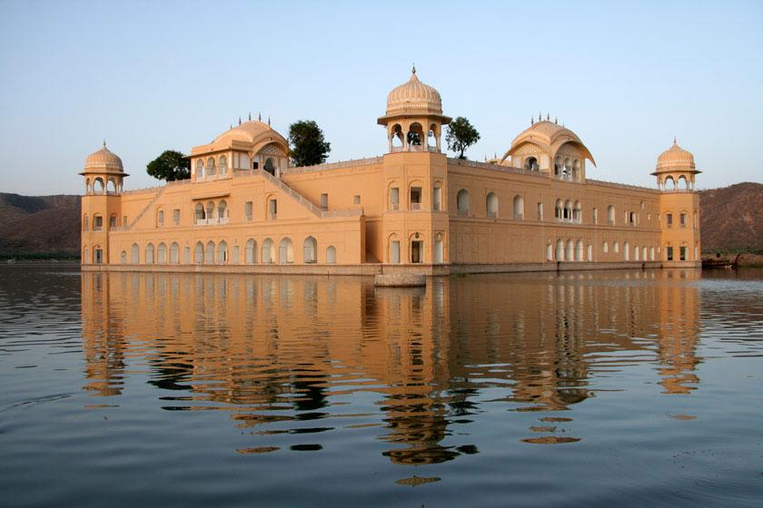 جال محل هند؛ کاخی شناور در زیر آب