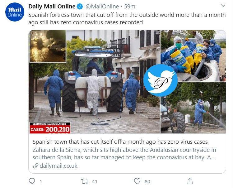 تنها شهری که در اسپانیا که کرونا ندارد! +عکس