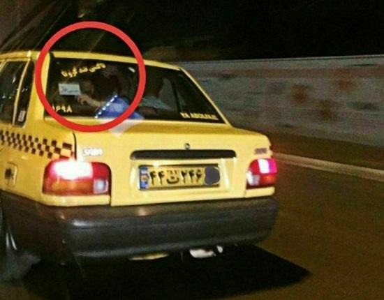 تاکسی ضدکرونا به ایران رسید!