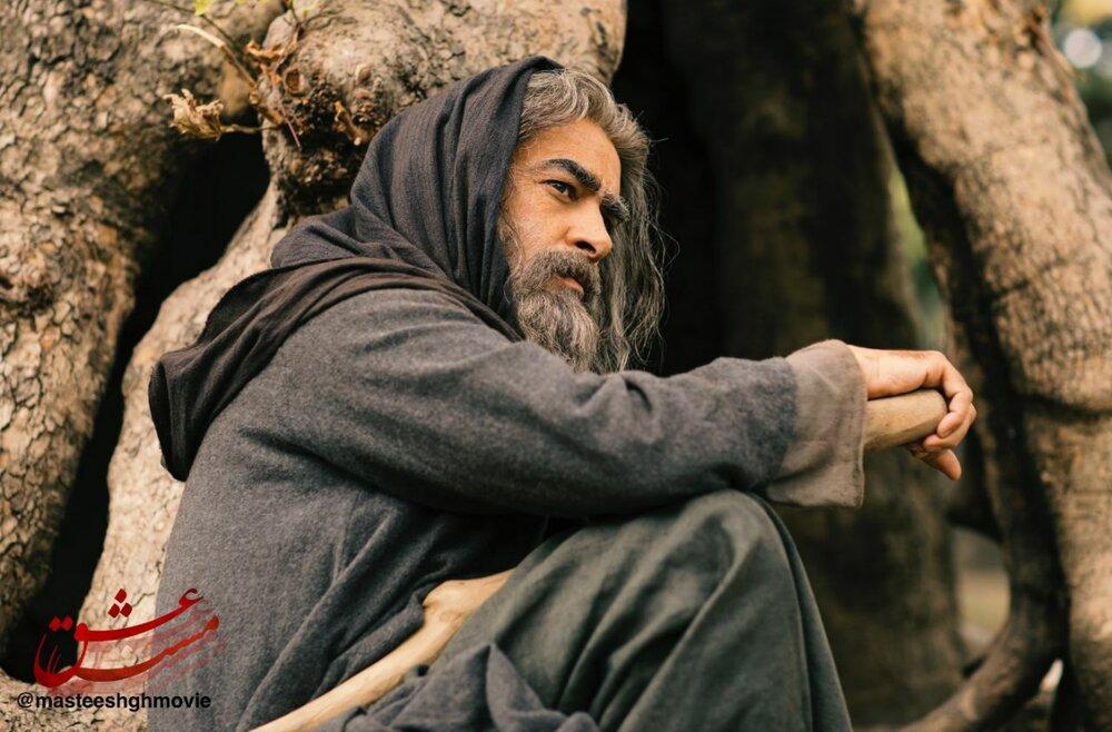 تصویر دیده نشده از شهاب حسینی در نقش شمس تبریزی