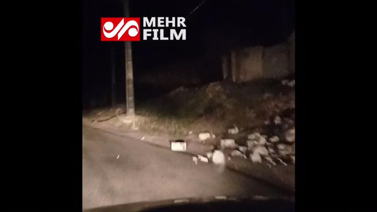 اولین فیلم از زلزله شدید سی سخت