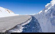 ارتفاع باورنکردنی برف در لرستان+عکس