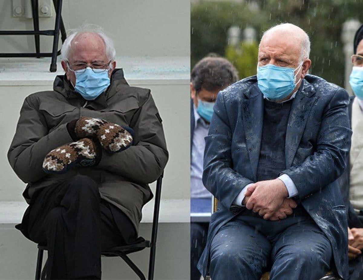 برنی سندرز ایرانی سوژه کاربران فضای مجازی شد +عکس
