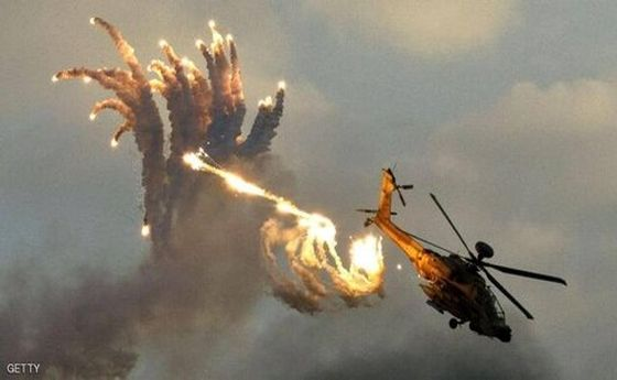سقوط هلیکوپتر رژیم صهیونسیتی