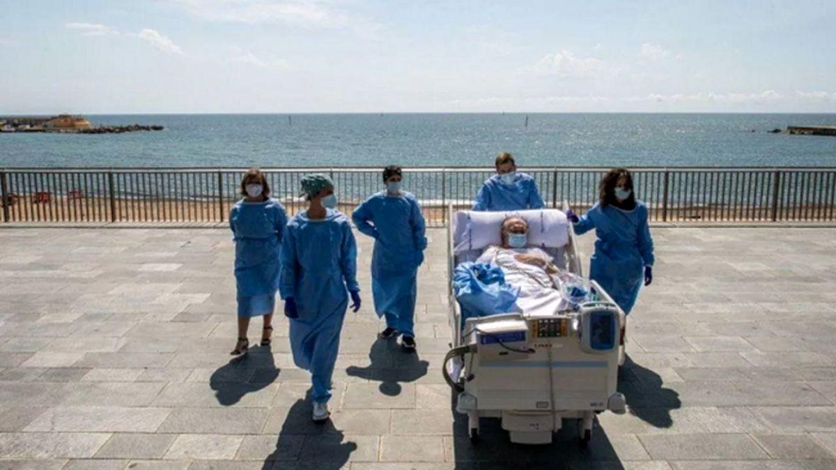 معالجات لاکچری برای بیماران کرونا در اسپانیا +عکس