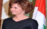 ظاهر متفاوت اسماء اسد پس از شکست سرطان +تصاویر