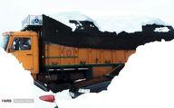 تصاویر: برف و کولاک در«امامزاده هاشم گیلان»