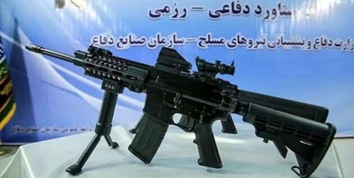 رونمایی نسخه جدید سلاح انفرادی «مصاف» +عکس