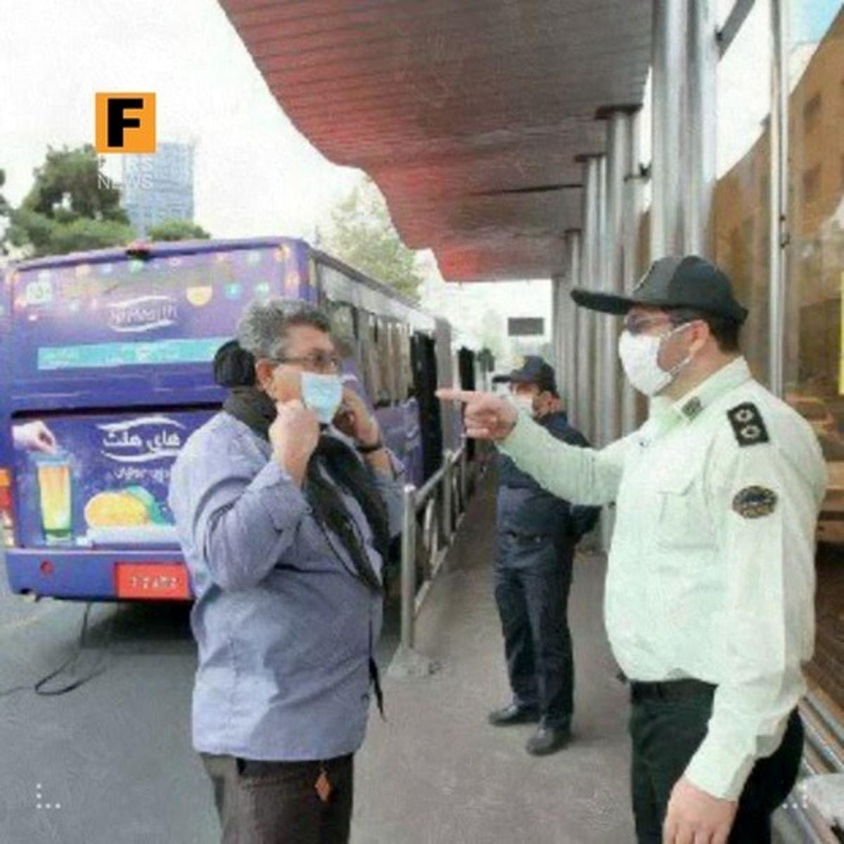 بازداشت ماسکی در کهگیلویه و بویراحمد +عکس