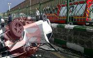 تصادف مرگبار خواننده مشهور پاپ در تبریز +عکس حادثه
