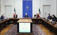 نشست ستاد اقتصادی دولت با حضور روحانی