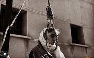 تصویر متفاوت از سحر قریشی پای چوبه دار +عکس