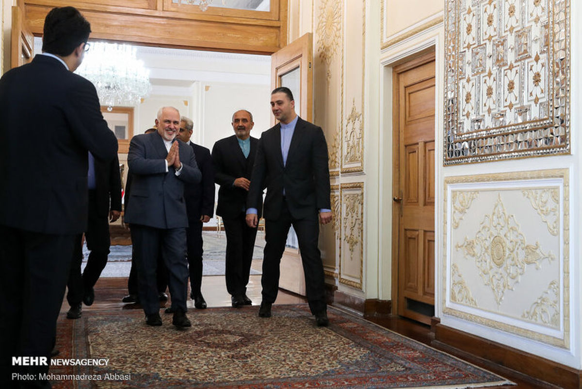 تصاویر: دیدار وزرای خارجه ایران و اتریش