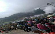 فعال شدن ناگهانی یک کوه آتشفشان در جزیره جاوا  +تصاویر