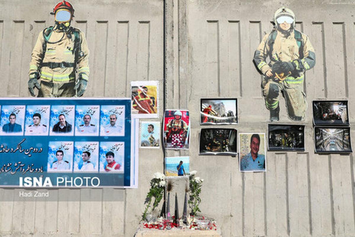 تسلیت قالیباف برای سالروز شهادت آتشنشانان در حادثه پلاسکو