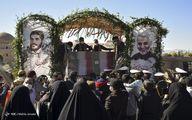 تصاویر: استقبال از هفت شهید گمنام - کرمان