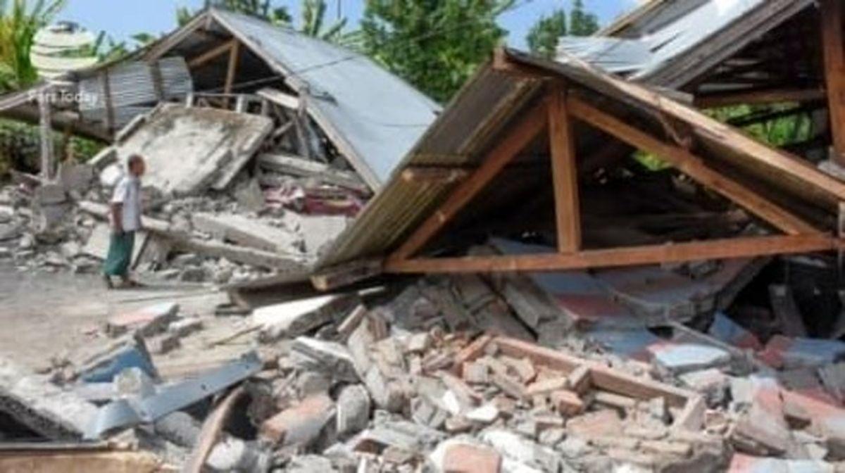 شمار کشتههای زلزله اندونزی به ۳۴ نفر رسید