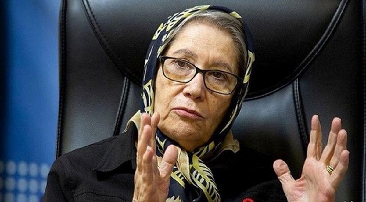 مینو محرز: وضعیت تهران سیاه است