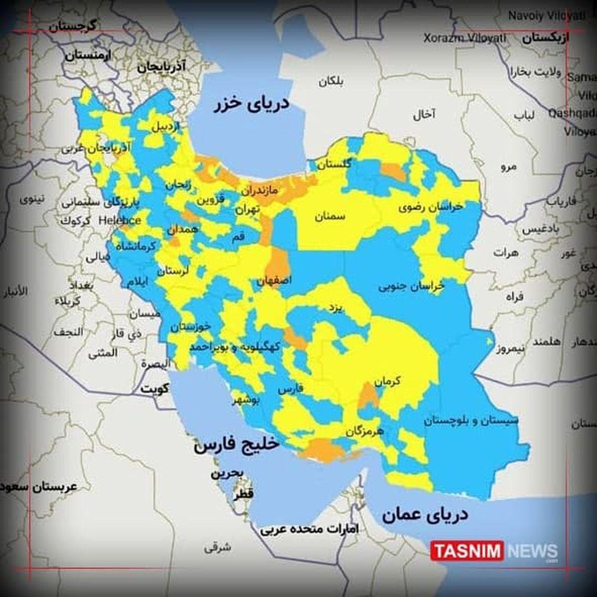 ایران به پیک چهارم کرونایی نزدیکتر شد