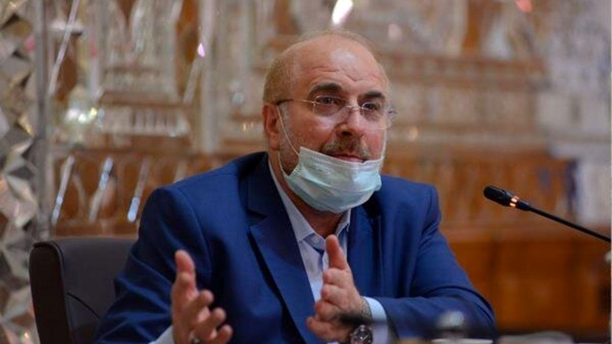 نامه قالیباف به رئیس ولسی جرگه افغانستان