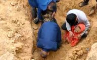 فیلم دلخراش زنده زنده دفن شدن دو کودک