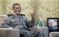 فرمانده کل ارتش: برای تحقق بیانیه گام دوم باید گامهای محکم برداریم