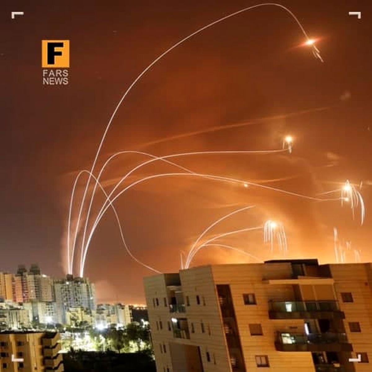 آسمان فلسطین در اختیار مقاومت