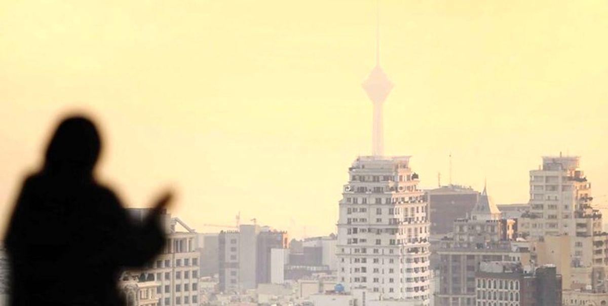 هوای تهران آلوده برای گروه های حساس