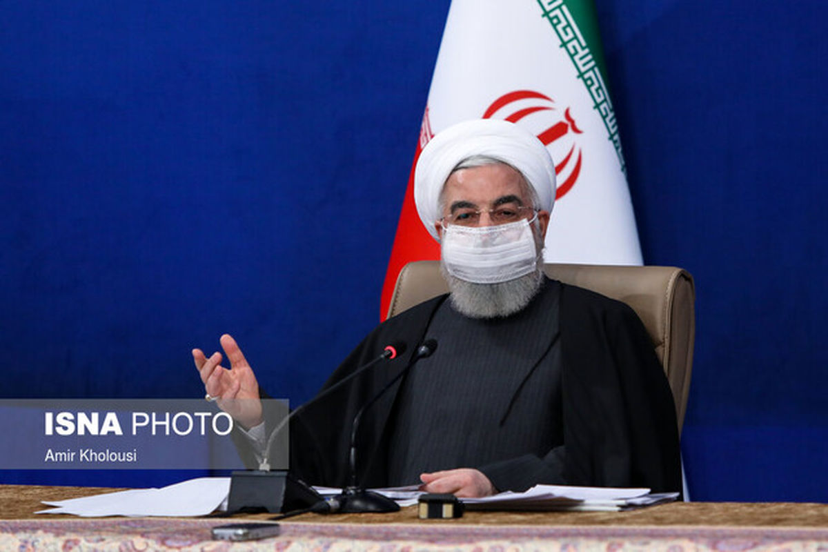 روحانی: در مجموع وضعیت کشور خوب است