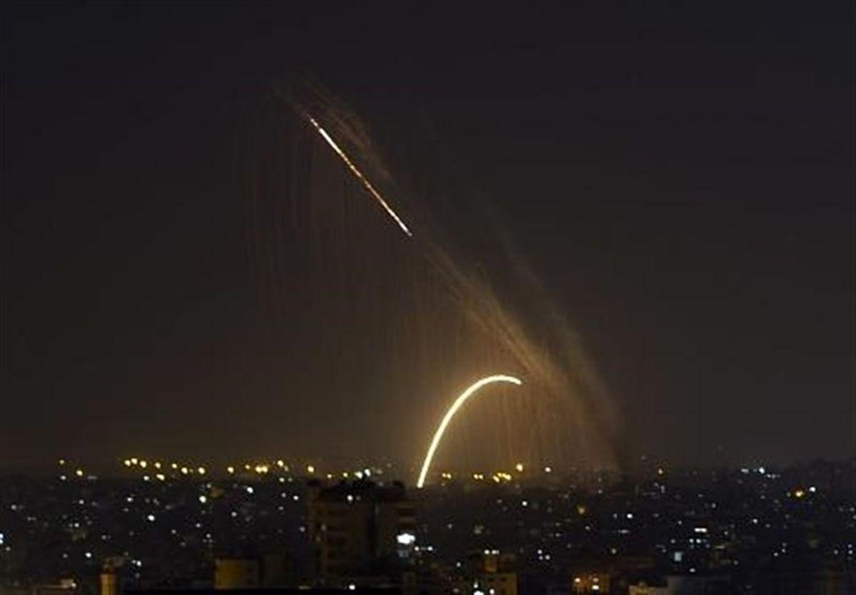 حمله هوایی رژیم صهیونیستی به حومه دمشق