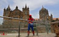 تصاویر: تلاش مرد عنکبوتی برای نجات شهر بمبئی