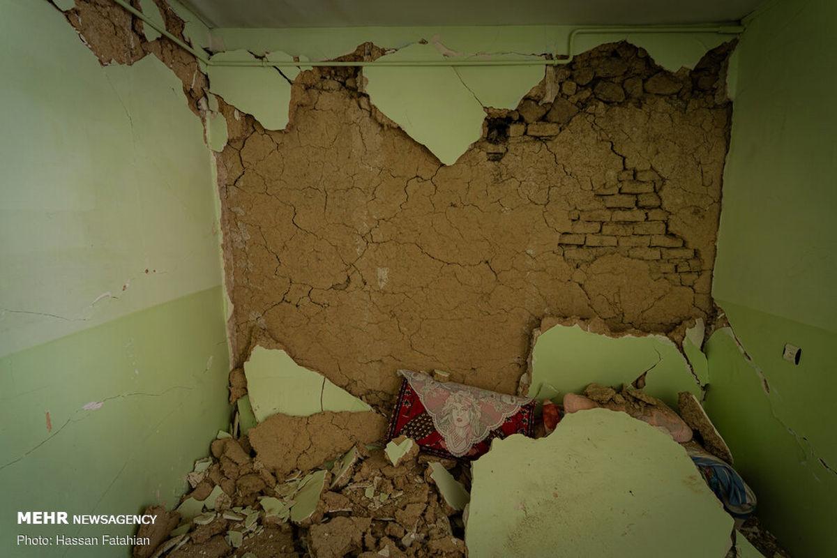 اوضاع نامساعد دانشآموزان سیسختی بعد از زلزله