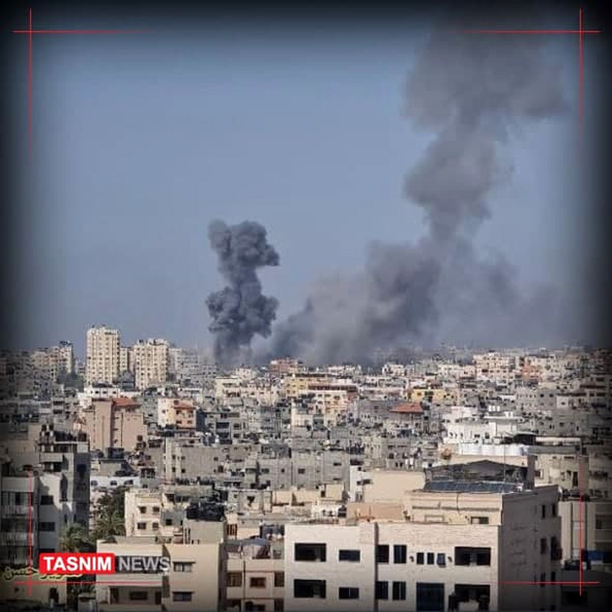 حملات هوایی دیوانهوار رژیم صهیونیستی به غزه
