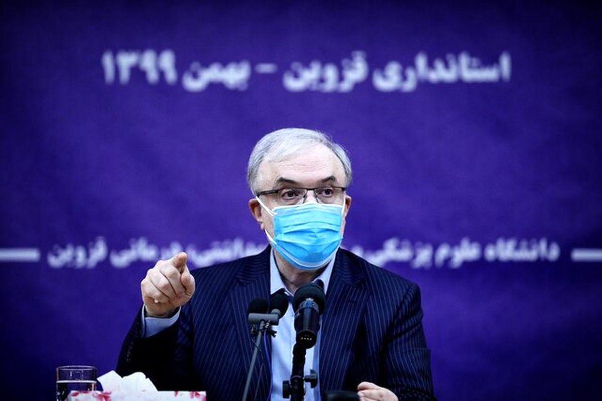 درخواست نمکی برای بستن مرزهای خوزستان به عراق