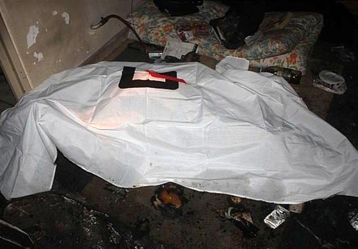 آتشسوزی مرگبار در ساختمان ۴ طبقه در تهران +تصاویر