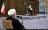تصاویر: آخرین دیدار روحانی و کابینه اش با رهبر انقلاب