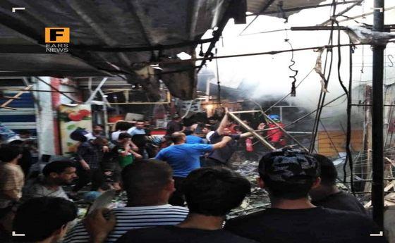 زن انتحاری در شهرک صدر بغداد داعشی بود!؟