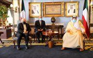 رایزنی ظریف و نخست وزیر کویت