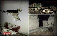 خاموشی در سیسخت در پی زلزله شدید +عکس