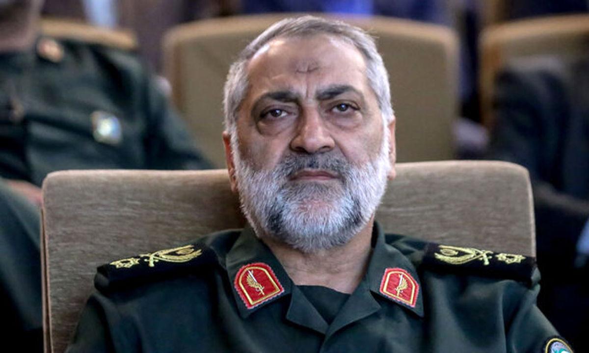 واکنش سردار شکارچی به حمله به کشتی ایرانی