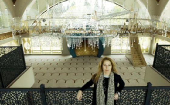 اولین مسجدی که یک زن طراحی کرد +عکس