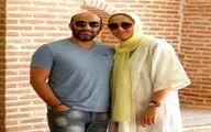 محسن تنابنده دركنار همسرش با تیپی جدید +عکس