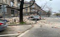 اولین تصاویر از خسارات زلزله شدید در کرواسی