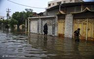 تصاویر: رفع آبگرفتگی با کمک مردم و گروههای جهادی در اهواز