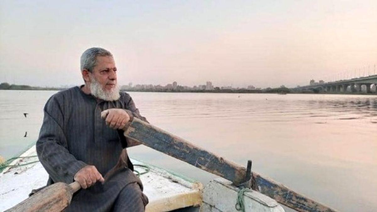 صیادی که ۳۵ سال در رود نیل در جستجوی مردگان پارو زد +عکس