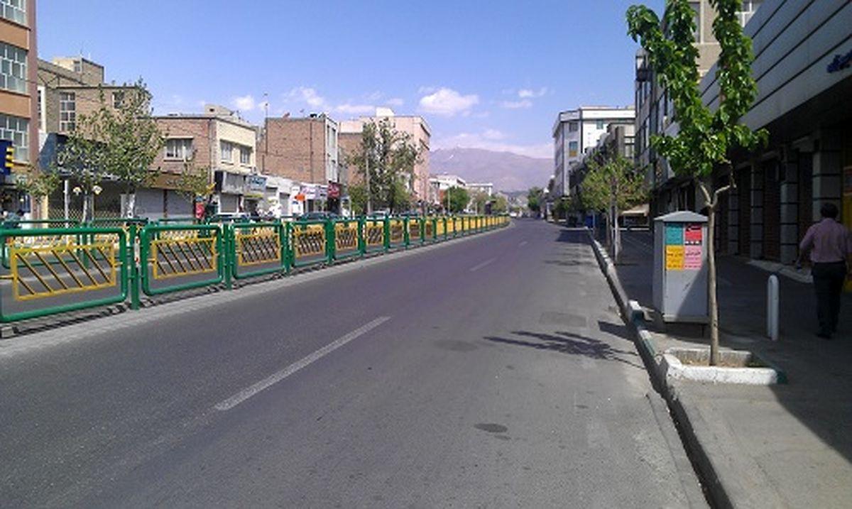 تهران در خلوت ترین روز خود/تصاویر